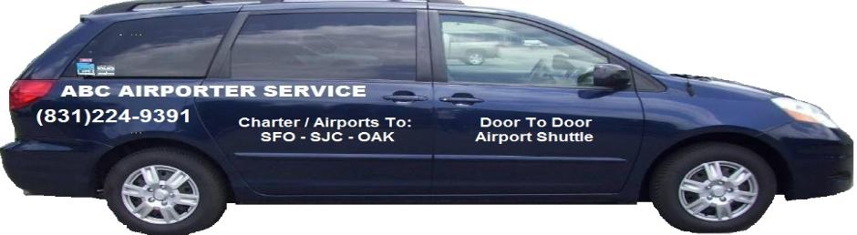 Transportation Shuttle Service To From Airport Pebble Beach This Is Operated By Abc Airporter